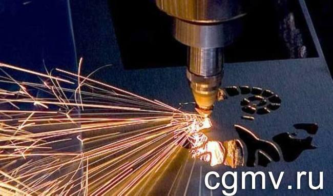 Лазерная резка металла в цеху ВВМ