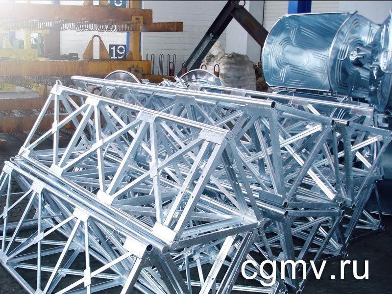 Цинкование металлаконструкций в Москве