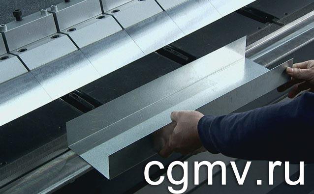 Гибка изделий из металла в Москве