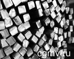 фото Квадрат из нержавеющей стали в Москве