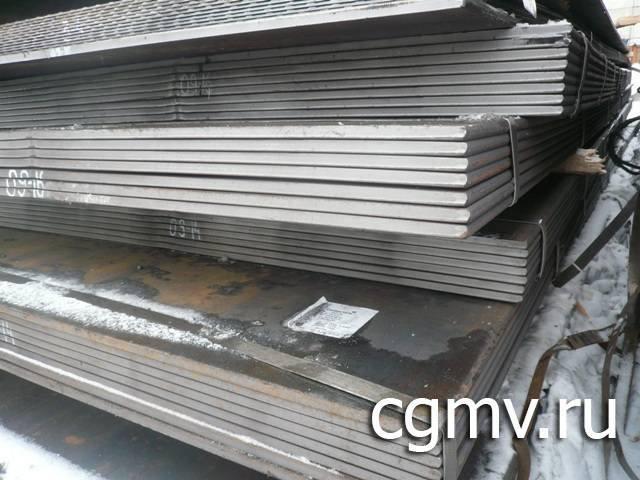 Листовая горячекатаная сталь