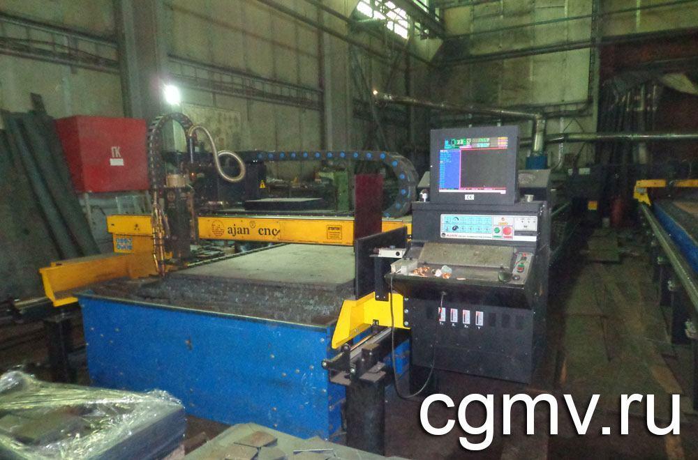 Плазменная резка металла на заводе ВВМ