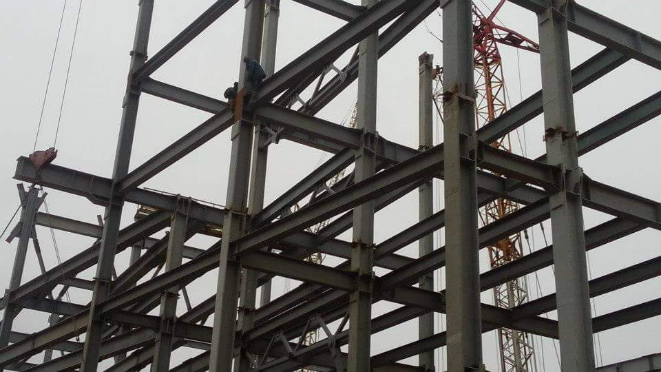 Монтаж строительных металлических конструкций
