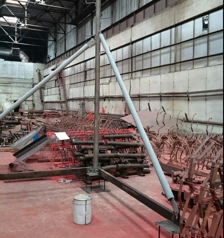 Нестандартные металлоконструкции на заводе ВВМ