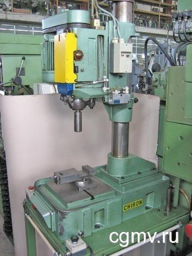 Сверление больших отверстий в металле на заводе ВВМ