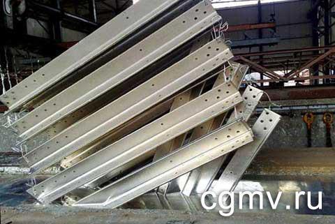 Покрытие цинком металлаконструкций