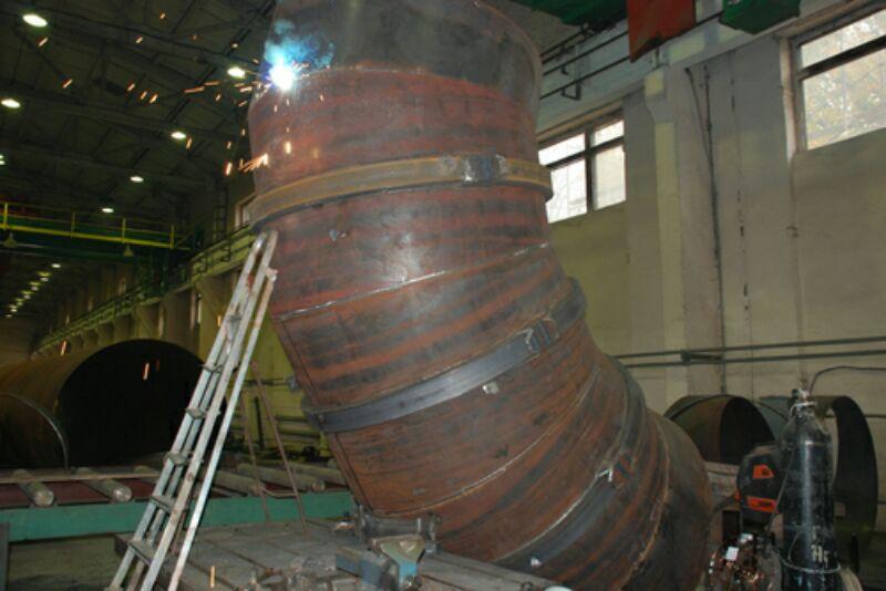 Производство сварных отводов